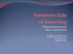 Feminine Side of Inventing